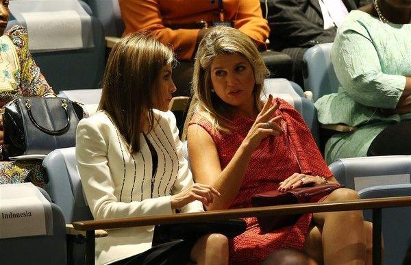 Maxima et Letizia à New-York