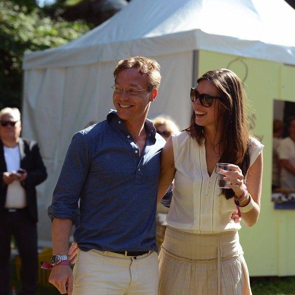 Jaime avec Viktoria aux 40 ans d'Haakon de Norvège