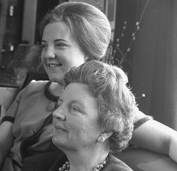 archive : Margriet et sa mère