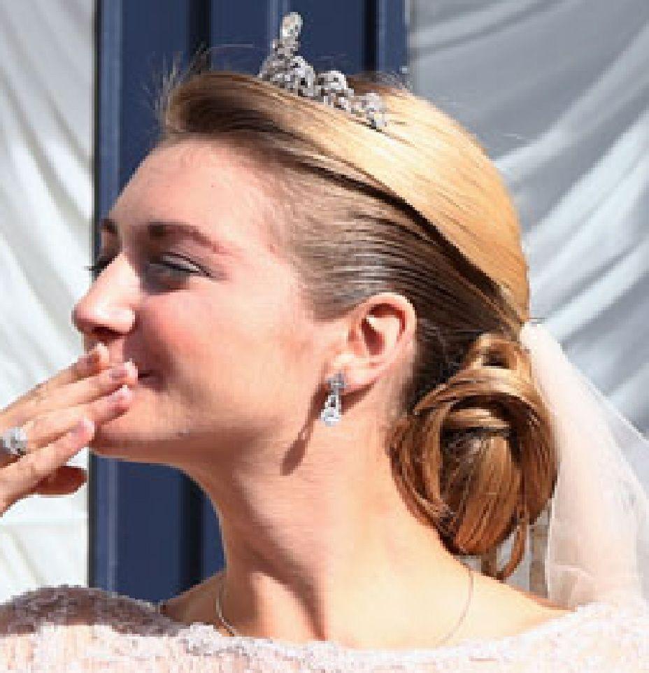 COIFFURES AU MARIAGE DE LUXEMBOURG